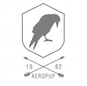 Aeropup hip logo cuervo2 arrow2 claro